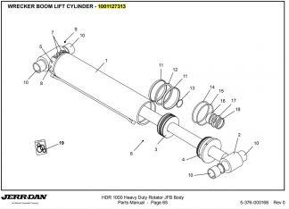 Boom Lift Cylinder 1